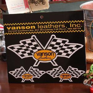 VANSON バンソン マグネットシート チェッカーフラッグ // 正規品 / オフィシャルライセンス|marblemarble