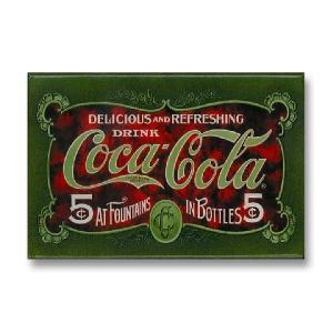 Ice Box マグネット 磁石 #005 COKE 1900's // インテリア雑貨 / コカコーラ / アメリカ雑貨 / MADE IN USA|marblemarble