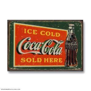 Ice Box マグネット 磁石 #013 COKE Ice Cold Green // インテリア雑貨 / コカコーラ / アメリカ雑貨 / MADE IN USA|marblemarble