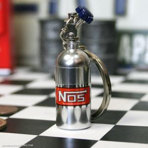 Nos ボトル キーホルダー シルバー // 小物入れ キーリング ニトロ アメリカン雑貨 marblemarble