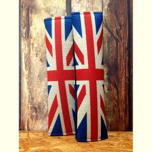 国旗柄シートベルトカバー イギリス 2個セット // 車 インテリア アメリカン雑貨|marblemarble