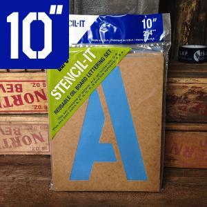 duro ステンシル セット オイルボード 10インチ // ビッグ DIY 世田谷ベース 紙 アメリカン雑貨|marblemarble