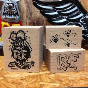 ラットフィンク スタンプセット // ハンコ Rat Fink アメリカン雑貨|marblemarble