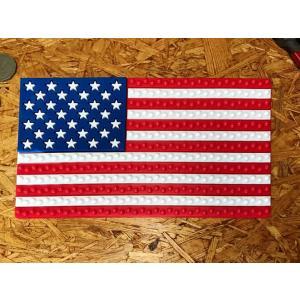 ダッシュボード 吸着パッド #001 星条旗 // 滑り止め スティッキーパッド アメリカン雑貨 メール便可|marblemarble