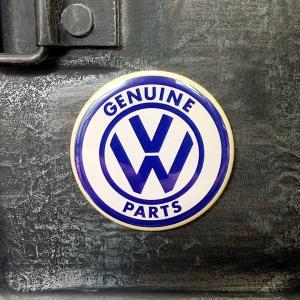 フリッジ マグネット 磁石 #003 VW オールドロゴ // アメリカン雑貨 並行輸入品 メール便可|marblemarble