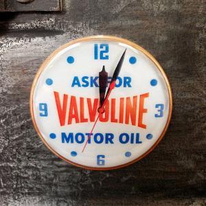 フリッジ マグネット 磁石 #005 クロック VALVOLINE // アメリカン雑貨 並行輸入品 メール便可|marblemarble