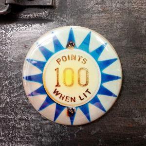フリッジ マグネット 磁石 #006 100 POINTS WHEN LIT // アメリカン雑貨 並行輸入品 メール便可|marblemarble