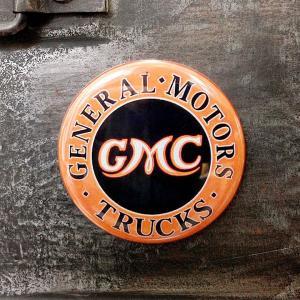 フリッジ マグネット 磁石 #009 GMC ロゴ // アメリカン雑貨 並行輸入品 メール便可|marblemarble