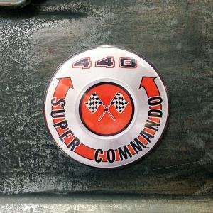 フリッジ マグネット 磁石 #010 440 SUPER COMMANDO ロゴ // アメリカン雑貨 並行輸入品 メール便可|marblemarble