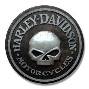 ハーレーダビッドソン スカル パブサイン [ HARLEY DAVIDSON HDL-15311 アメリカン インテリア 壁 ]|marblemarble