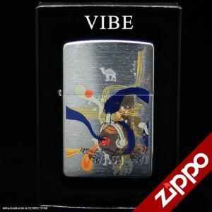 Zippo(ジッポー)ライター CAMEL(キャメル) VIBE 2005年 スイス限定品 // アメリカン雑貨 / 喫煙具 / ジッポ marblemarble