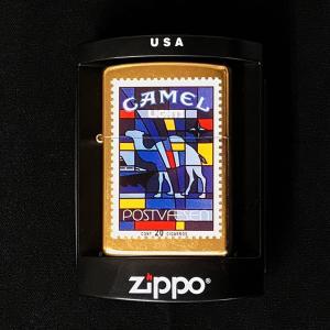 Zippo CAMEL #018 2004年 [ 新品 未使用 オイルライター ジッポ ジッポー キャメル 並行輸入 ] marblemarble