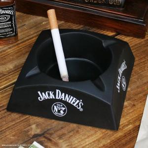 ノベルティ灰皿 Jack Daniel's ジャックダニエル プラスチック製アッシュトレイ // アメリカン雑貨 / 喫煙具 / ノベルティグッズ marblemarble