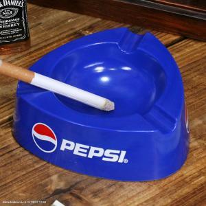 ノベルティ灰皿 PEPSI ペプシ プラスチック製アッシュトレイ // アメリカン雑貨 / 喫煙具 / ノベルティグッズ|marblemarble
