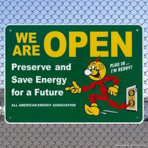レディキロワット プラサイン #001 WE ARE OPEN グリーン // インテリアサイン / 看板 / ウェルカムボード / アメリカン雑貨|marblemarble