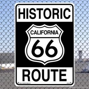 プラスチック サインボード HISTORIC ROUTE 66 // アメリカン雑貨 インテリア雑貨|marblemarble