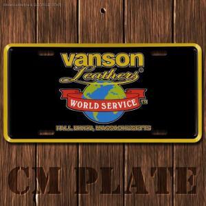 ナンバープレート型CMプレート #180 / VANSON(バンソン)1 // アメリカ雑貨 / インテリア雑貨 / ガレージ雑貨 / メール便対応|marblemarble