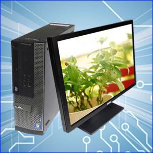 中古デスクトップパソコン Windows7-Pro搭載 23ワイド液晶セット | DELL Optiplex7010SFF  | Core i5 3470:3.2GHzGHz メモリ:8GB HDD:500GB DVDマルチ|marblepc