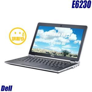 中古ノートパソコン Windows10-HOME(MAR) | Dell Latitude E6230 | コアi5(2.60GHz)搭載 メモリ4GB HDD320GB 無線LAN WPSオフィス付き 中古パソコン 訳あり|marblepc