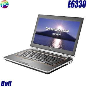 Dell Latitude E6330 | 中古ノートパソコン Windows10(MAR) コアi3搭載 メモリ4GB HDD320GB WEBカメラ DVDマルチ 無線LAN 13.3型 WPSオフィス付き 中古パソコン|marblepc