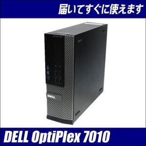 中古デスクトップパソコン Windows10 DELL Optiplex7010SFF Core i5 3470:3.2GHzGHz メモリ:8GB HDD:500GB 送料無料