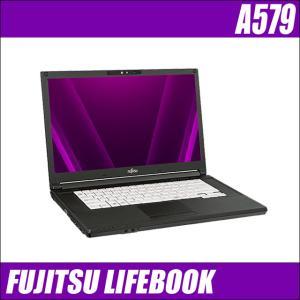 富士通 LIFEBOOK A574/KX テンキー付き 中古ノートパソコン | メモリ8GB HDD500GB Windows10-HOME(MAR) Celeron(2.00GHz)搭載 DVDマルチ WPSオフィス付き|marblepc