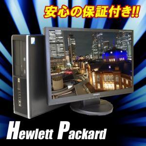 Windows7 中古デスクトップパソコン|HP Compaq 6000 Pro SFF|DVDマルチ|メモリー8GB|HDD:500GB|22インチワイド液晶| WPS Office|グラボ GEFORCE|marblepc