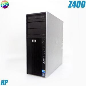 HP Z400 Workstation | ワークステーション 中古デスクトップパソコン Xeon-3.20GHz Quadro4000グラボ搭載 OS無し メモリ8GB HDD250GB DVD-ROM 中古パソコン|marblepc