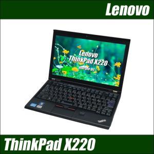 中古ノートパソコン Windows 10 Lenovo ThinkPad X220 Core i5-2400M 2.3GHzメモリ8GB SSD128GB 無線LAN内蔵 WPS Office付き 送料無料|marblepc