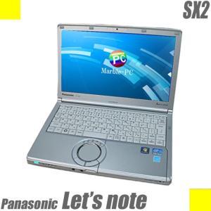 中古ノートパソコン Windows10-HOME(MAR) | Panasonic Let's note SX2 レッツノート | コアi5 メモリ8GB 新品SSD320GB 無線LAN WPSオフィス付き 中古パソコン|marblepc