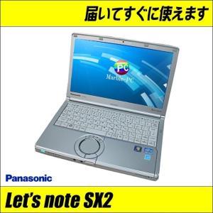 中古ノートパソコン Windows10(MAR) Panasonic Let's note SX2 CF-SX2JDGYS レッツノート | コアi5 メモリ4GB HDD320GB WEBカメラ Bluetooth WPSオフィス付き|marblepc