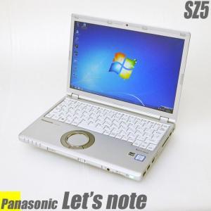 中古ノートパソコン Windows7-Pro | Let's note SZ5 | コアi5搭載 メモリ4GB HDD320GB WEBカメラ DVDマルチ Bluetooth 無線LAN WPSオフィス付き 中古パソコン|marblepc
