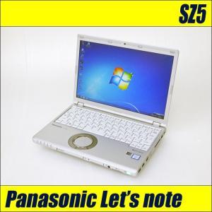 中古ノートパソコン Windows10-Pro | Let's note SZ5 | コアi5 メモリ8GB SSD256GB WEBカメラ Bluetooth 無線LAN WPSオフィス付き レッツノート 中古パソコン|marblepc