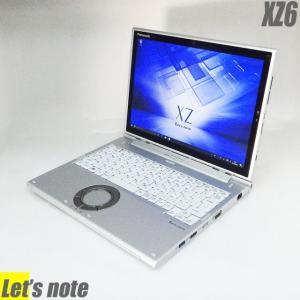 Windows10-Pro 中古ノートパソコン Panasonic Let's note XZ6 | コアi5-7300U メモリ8GB SSD256GB WEBカメラ Bluetooth 無線LAN WPSオフィス付き タブレットPC|marblepc