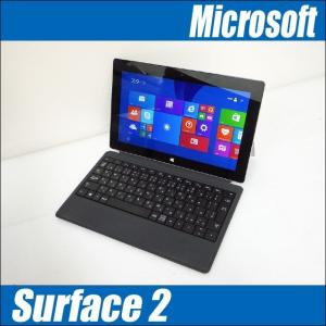中古タブレットパソコン Windows RT 8.1 | Microsoft Surface 2 専用キーボードセット 中古パソコン | TEGRA4(1.71GHz)搭載 メモリ2GB SSD64GB Microsoft Office