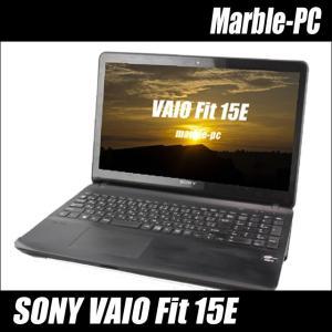 SONY VAIO Fit 15E | 中古ノートパソコン Celeron メモリ4GB HDD500GB Windows10(MAR) テンキー マルチ WEBカメラ Bluetooth内蔵 WPS Office付き 中古パソコン|marblepc