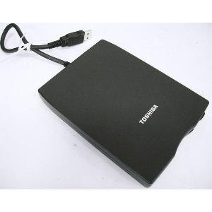【TOSHIBA純正】 外付USB FDD PA3109U-3FDD USB 外付け フロッピーディスク ドライブ 【中古】