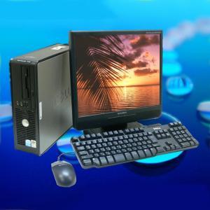 中古デスクトップパソコン|19インチワイド DELL OptiPlex 780または380シリーズ|DVDスーパーマルチ|メモリー4GB|Windows7|marblepc