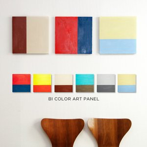 色彩のコントラストを楽しむバイカラーデザインに何層にも塗られた塗料とムラ感のある表情も魅力となったイ...