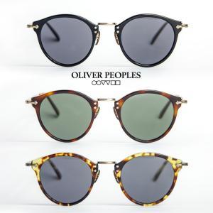 OLIVER PEOPLES オリバーピープルズ 505 SUN ボストンサングラス メンズ レディース|marcarrows