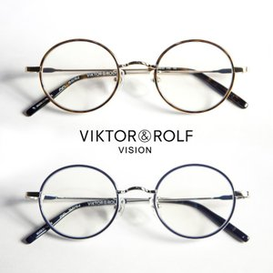 ラウンドフレーム VIKTOR&ROLF メガネ 度付き 伊達 70-0170|marcarrows