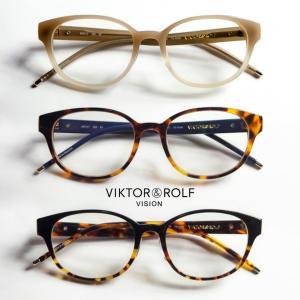 ボストンフレーム VIKTOR&ROLF メガネ 度付き 伊達 70-5006|marcarrows