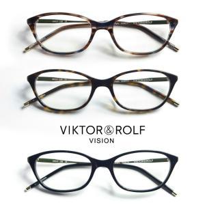 フォックス ウェリントンスクエアフレーム VIKTOR&ROLF メガネ 度付き 伊達|marcarrows