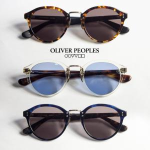 OLIVER PEOPLES オリバーピープルズ LAMBEAU ボストンサングラス メンズ レディース|marcarrows