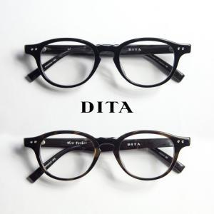 DITA ディータ NEWYOKER ボストンフレーム メガネ 伊達 度付き|marcarrows