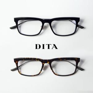 ディータ DITA STAKLO 53サイズ ウェリントン メガネ 伊達 度付き
