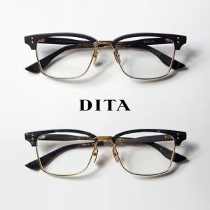 ディータ DITA STATESMAN-SIX 55サイズ サーモント ブロー メガネ 伊達 度付き