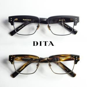 DITA ディータ STATESMAN 52サイズ サーモント ブロー メガネ 伊達 度付き|marcarrows