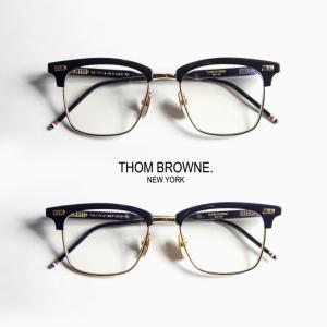 THOM BROWNE(トムブラウン)から、モードな雰囲気が漂うウェリントン型サーモントフレームのご...