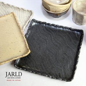「JARLD(ジャールド)」から、茨城県笠間市の伝統工芸を駆使した笠間焼しのぎ四角皿をご紹介。  ◆...